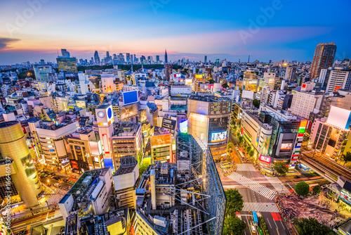 Poster Tokyo Shibuya, Tokyo, Japan Cityscape