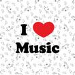 Illustration of music