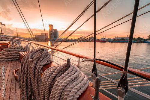 Obraz Port jachtowy w Gdyni - fototapety do salonu
