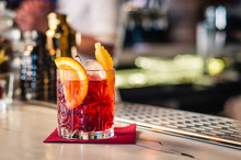 Cocktail Negroni In Bicchiere ...