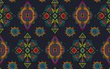 Wektor ręcznie rysowane wzór z plemiennych elementów abstrakcyjnych - 166493033