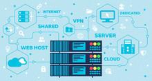 Web Hosting Concept