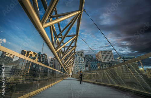 Fotografia  City Bridge