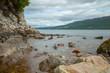 Am Strand von Loch Ness