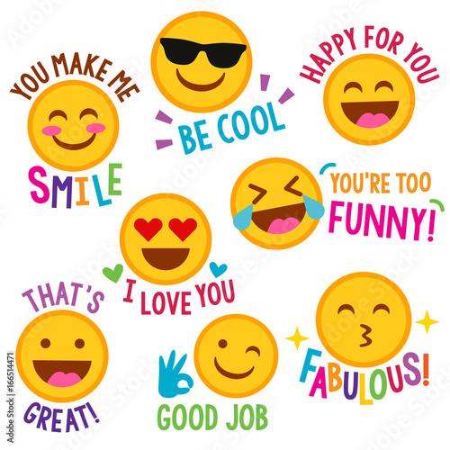 Photo  Encouraging Emojis