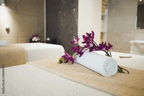 Keuken foto achterwand Spa Relaxation treatments in spa wellness saloon