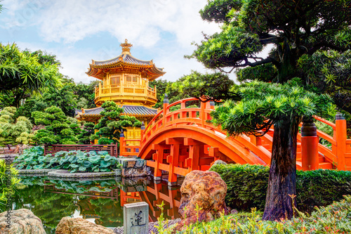Spoed Foto op Canvas Hong-Kong Nan Lian Garden in Diamond Hill, Hong Kong