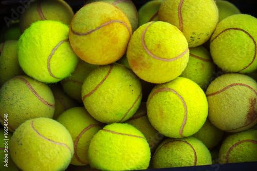 Tennis Ball Background Green Color Buy This Stock Photo And