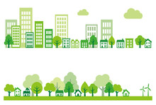 Ecology Green City, Town And C...