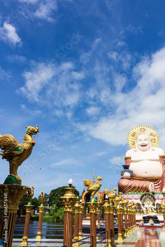 Staande foto Kiev Wat Plai Laem : ワット・プライラム