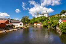 Rozmberk Nad Vltavou, Castle Over The River Vltava, South Bohemian Region, Czech Republic