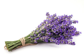 Lavender with aromatic oil