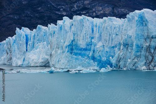 Fotobehang Gletsjers The global warming problem.