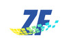 ZF Initial Logo for your startup venture