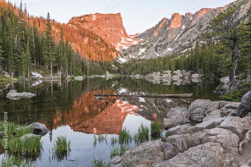 Photo  Hallett Peak Alpenglow