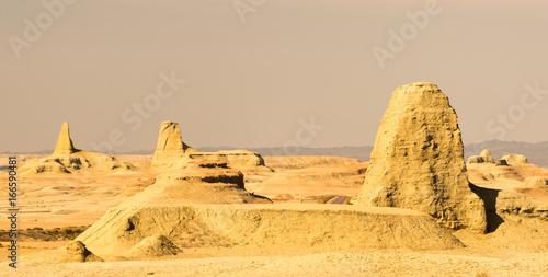 Poster Algérie canyon desert