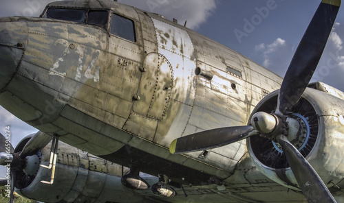 Photo  The Douglas C-47B Skytrain (DC-3 Dakota) transport aircraft