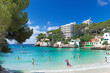 canvas print picture - Beautiful turquoise beach of Cala Santanyi - Majorca – 5086