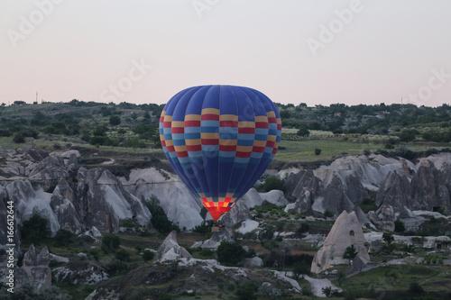 Hot Air Balloon in Cappadocia Valleys