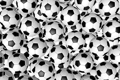 Koncepcja 3D piłki nożnej / piłki nożnej