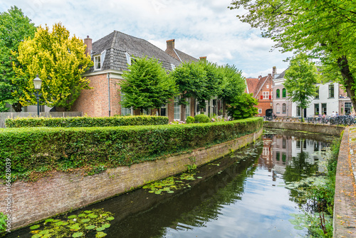 The Old Center of the town of Amersfoort Wallpaper Mural