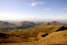View From Snowdon On A Clear Day