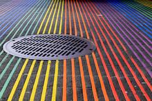 Castro District Rainbow Crossw...