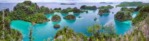 Fotomural  Painemo Island, Blue Lagoon, Raja Ampat, West Papua, Indonesia