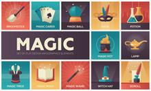 Magic - Modern Vector Flat Des...