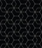 bezszwowe geometrycznej linii siatki wektor wzór sześciokąt - 166675446