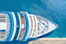 Nose Of The Cruise Ship Near T...