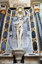 Statue In The Shape Of A Skele...