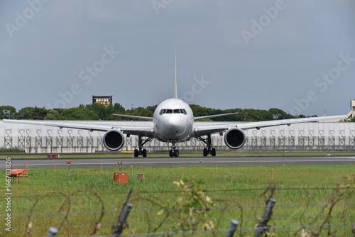 Fotografie, Obraz  離陸準備の飛行機