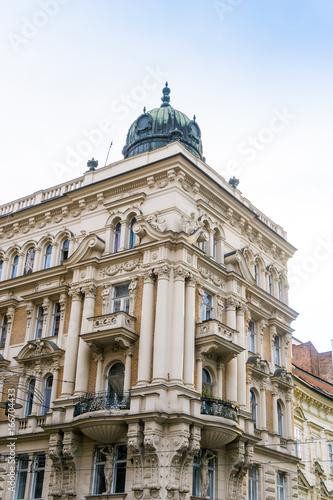 Photo  antique building view in Brno, Czech Republic