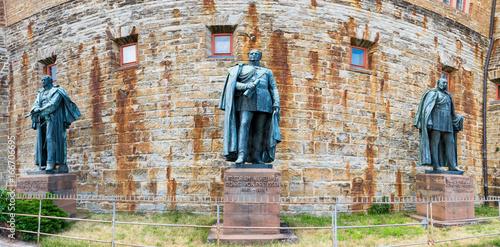 Hohenzollern Castle Burg Hohenzollern At The Swabian Region Of Baden Wurttemberg Germany Kaufen Sie Dieses Foto Und Finden Sie Ahnliche Bilder Auf Adobe Stock Adobe Stock