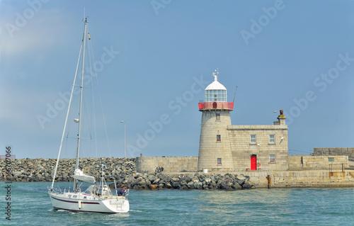 Bailey Lighthouse, Howth Canvas Print