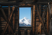 Window To The Rocky Mountains
