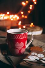 Hot Chocolate With Cinnamon Co...
