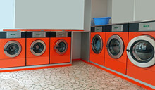 Automatic Coin Operated Laundry