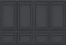3d Rendering. Luxury Black Wood Wall Background