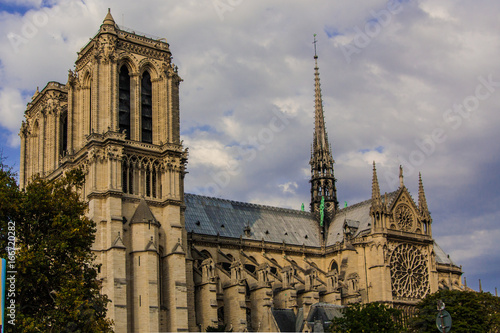 Foto op Canvas Monument Senlis Cathedral
