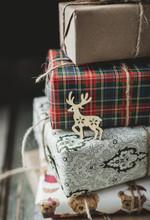 Deer On A Christmas Gifts