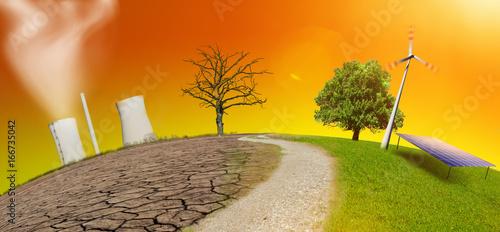 Obraz na plátně  Energiewende.