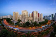 Rail MRT At Singapore