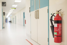Fire Extinguisher In Operating...