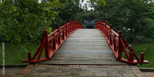 Chinese bridge Hanoi