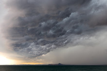 Dramatic Sky Of A Storm Approa...