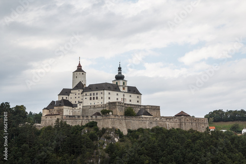 Stickers pour portes Delhi Medieval Forchtenstein castle, Austria