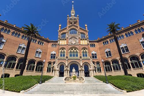 fototapeta na drzwi i meble Hospital de la Santa Creu i de Sant Pau, Barcelona, Spain.