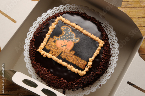 Photo Halloween cake Noč čarovnic Torta halloween-Kuchen Захер 萨赫蛋糕 kage हेलोवीन केक t